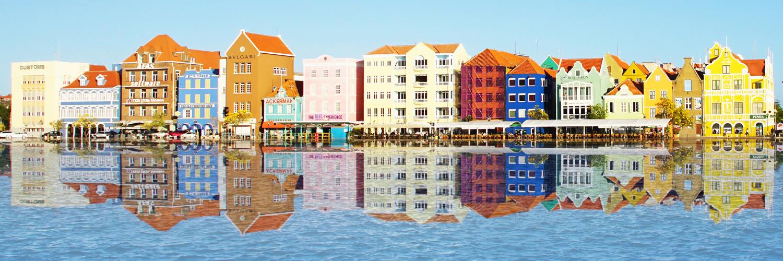 Gekleurde huisjes Willemstad