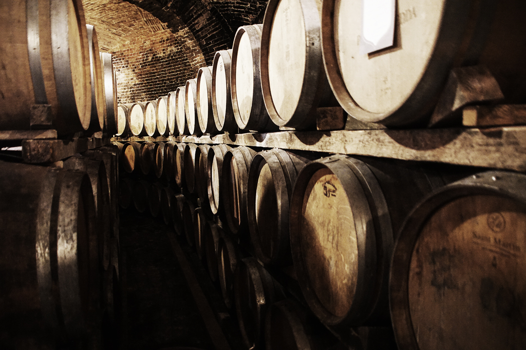 30. Wine Barrels